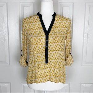 Anthro | Vanessa Virginia Sunburst Honore Blouse